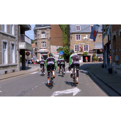 TACX TRAINING WITH BELKIN PRO CYCLING trasa treningowa real life video