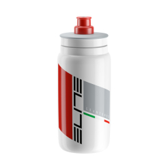 ELITE FLY TEAMS bidon 550ml GRANFONDO WHITE