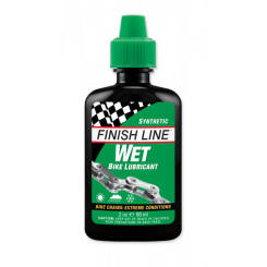 FINISH LINE CROSS COUNTRY smar do łańcucha na mokre warunki 60 ml zielony