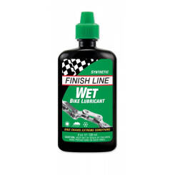 FINISH LINE CROSS COUNTRY smar do łańcucha na mokre warunki 120 ml zielony